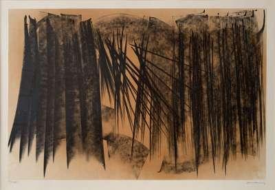 L1970-20 (Lithographie) - Hans HARTUNG