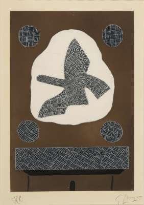 Oiseau de passage (Etching) - Georges BRAQUE