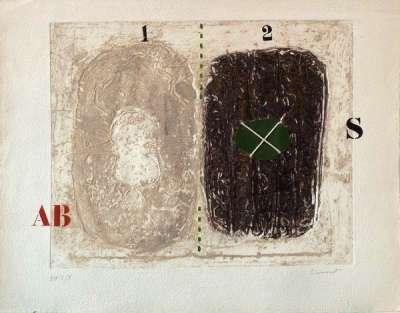 Sans titre (Gravure) - James COIGNARD