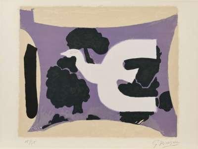 L'atelier (Lithographie) - Georges BRAQUE