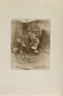 Entre deux eaux (Gravure) - Hans BELLMER