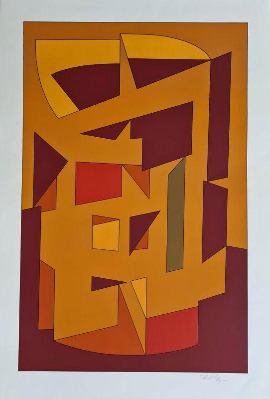 Kallion (Sérigraphie) - Victor  VASARELY