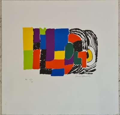 Composition pour Madame Pompidou (Lithographie) - Sonia DELAUNAY-TERK