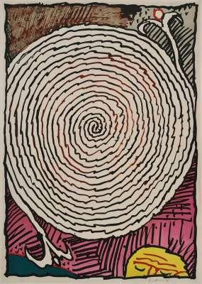 Labyrinthe d'apparat IV (Lithograph) - Pierre ALECHINSKY