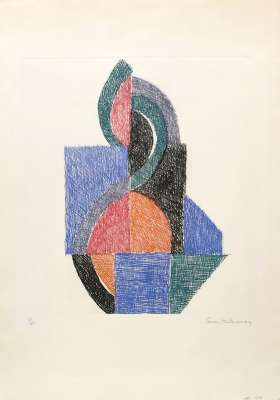 Rythm V (Engraving) - Sonia DELAUNAY-TERK