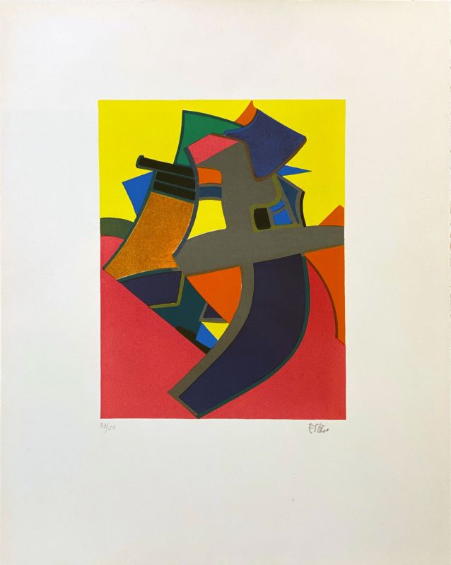 Balmoure (Lithographie) - Maurice ESTEVE