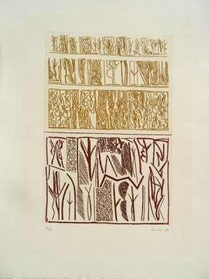 No title (Engraving) - Riccardo  LICATA