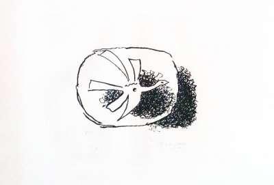 Août (Eau-forte et aquatinte) - Georges BRAQUE