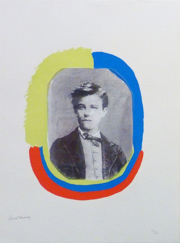 Les illuminations : Portrait de Rimbaud (Pochoir) - Sonia DELAUNAY-TERK