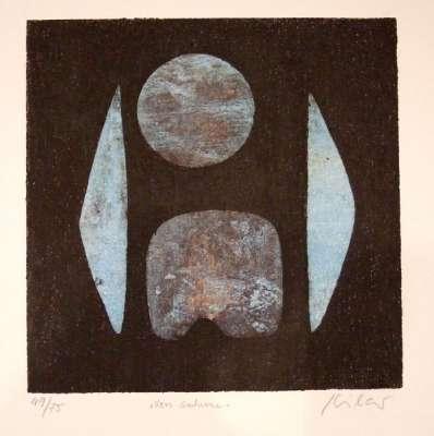 Vers Saturne (Gravure) - Stéphane KILAR