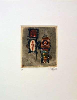 Poème Touareg (Gravure) - Johnny FRIEDLAENDER