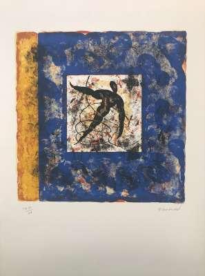 Chaque chose en son temps I (Lithographie) - Pierre-Marie BRISSON