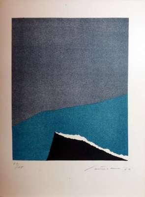Sans titre (Lithographie) - Giuseppe  SANTOMASO
