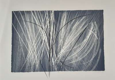 L 1971-2 (Zincographie) - Hans HARTUNG