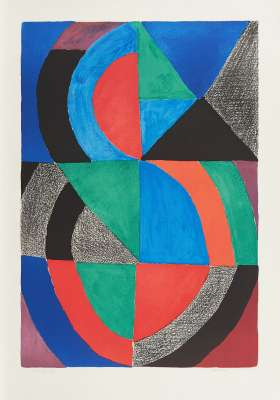 Grand Icône (Lithograph) - Sonia DELAUNAY-TERK