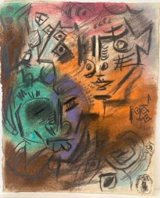 Untitled (Pastel (modern)) - André  MASSON