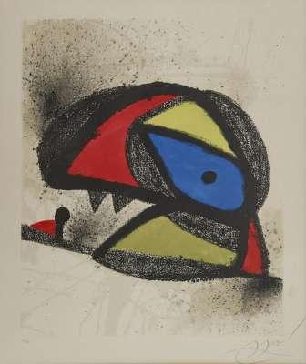 Homenatge A J. Torres Clavé (Lithographie) - Joan  MIRO