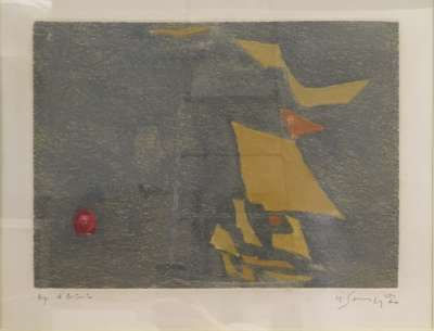 Sans titre (Gravure) - Gustave  SINGIER