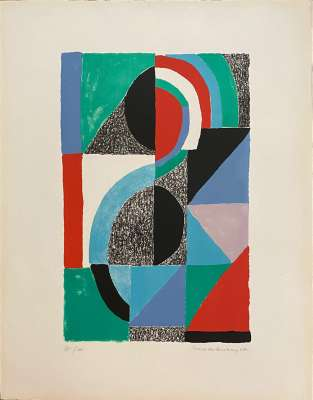 Icône (Lithographie) - Sonia DELAUNAY-TERK