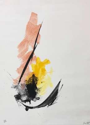Composition (Lithograph) - Jean MIOTTE