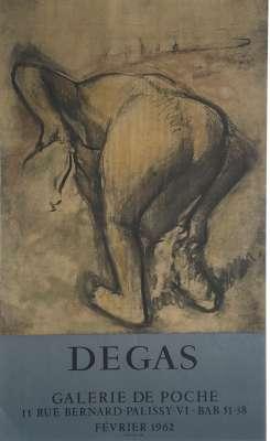 DEGAS (Affiche) -  Artistes Divers