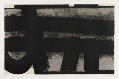 Lithographie n° 35 (Lithographie) - Pierre  SOULAGES