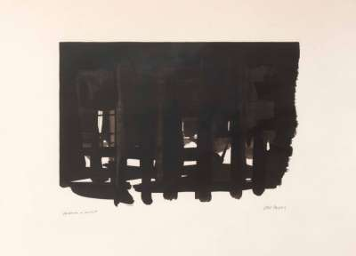 Lithographie n° 16 (Farblithographie) - Pierre  SOULAGES