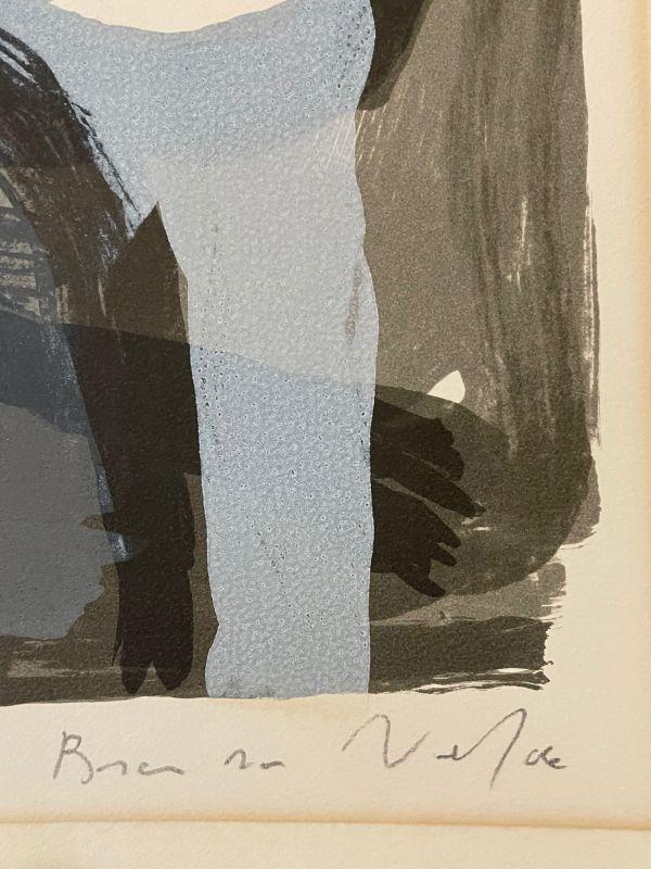 Sans titre (Lithographie) - Bram   VAN VELDE