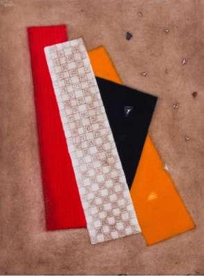 Composition rouge orangé (Gravure) - Arthur Luiz  PIZA