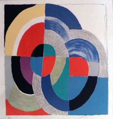 Pâques russes (Lithographie) - Sonia DELAUNAY-TERK