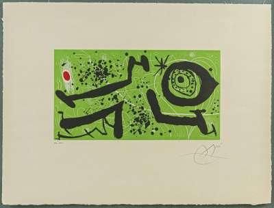 Picasso I Els Reventos (Eau-forte et aquatinte) - Joan  MIRO