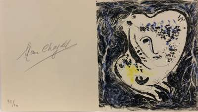 Catalogue - Frontispice (Lithographie) - Marc CHAGALL