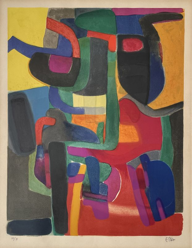 Brandevin (Lithographie) - Maurice ESTEVE