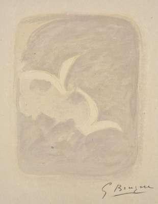 Descente aux enfers planche 1 (Lithographie) - Georges BRAQUE
