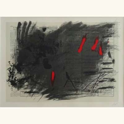 (Lithographie) - Antoni  TAPIES