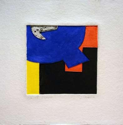 Joël CHASSERIAU / Ensemble (Prägedruck) -  Artistes Divers