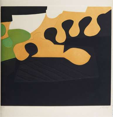 Suite des architectures non répertoriées C (Aquatinte) - Bertrand DORNY