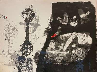 Trobadors (Lithographie) - Antoni CLAVE