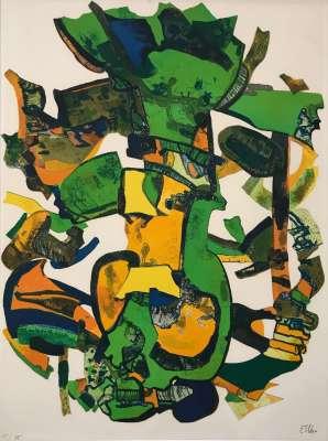 Folerie (Lithographie) - Maurice ESTEVE