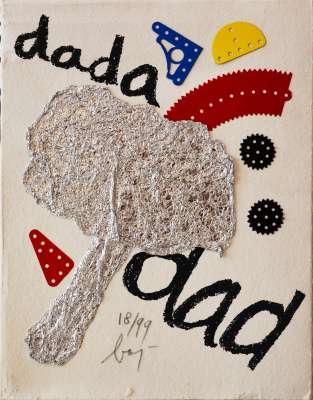 "BAJ Enrico - Complete illustrated book ""DADA"" (Illustrated Book) - Enrico BAJ"