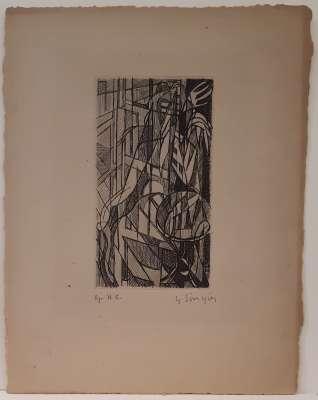 (Eau-forte) - Gustave  SINGIER