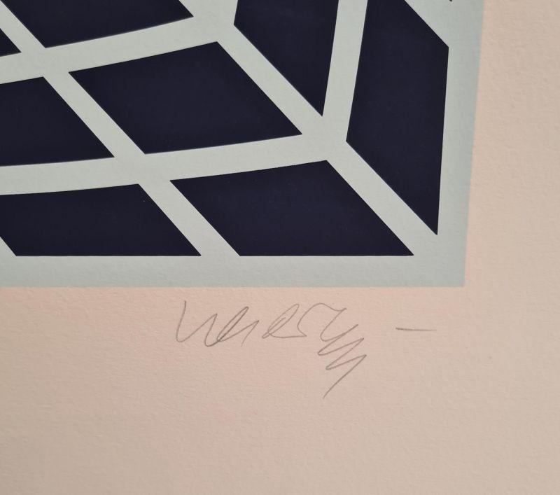 (Sérigraphie) - Victor  VASARELY
