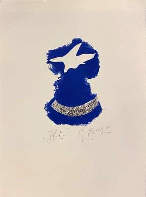 Le Tir à l'Arc (Lithographie) - Georges BRAQUE
