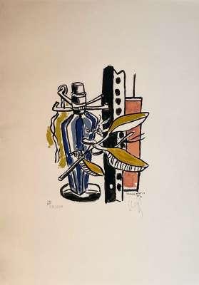 Album de 10 sérigraphies (Sérigraphie) - Fernand LEGER