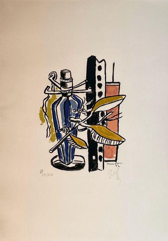Album de 10 sérigraphies (Lithographie) - Fernand LEGER