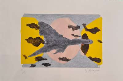 Equinox (Lithograph) - Georges BRAQUE