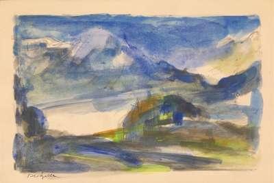 Landscape (Greetings card) - Jean-Pierre MARZELLE