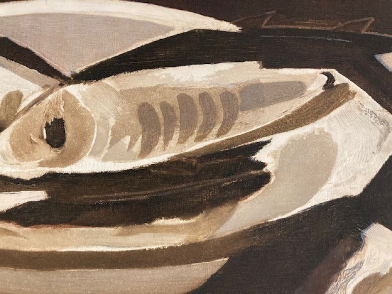 Les Poissons (Eau-forte) - Georges BRAQUE