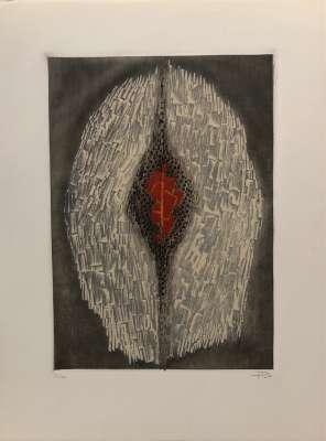Fruit défendu (Engraving) - Arthur Luiz  PIZA