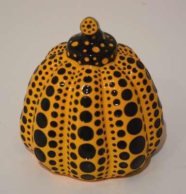 Pumpkin Naoshima (Sculpture) - Yayoi KUSAMA